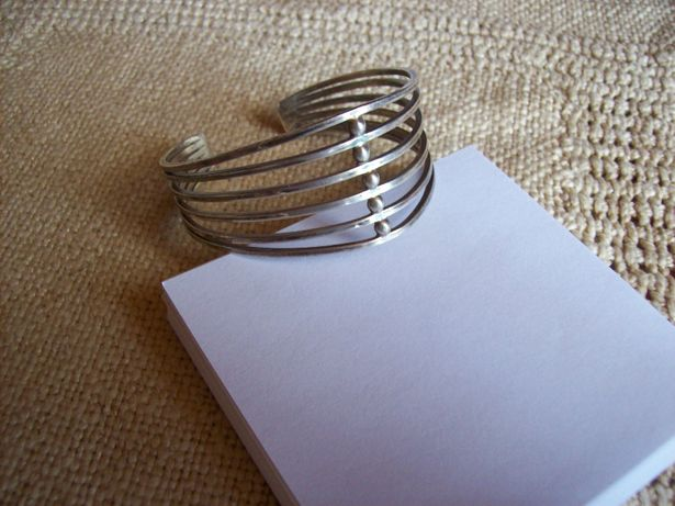 srebrna bransoletka