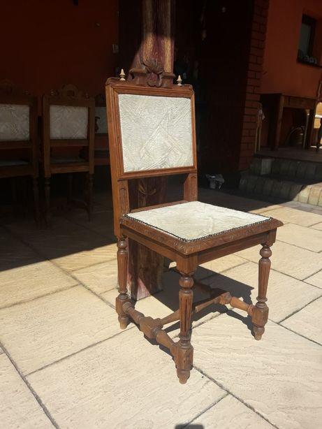 Krzesło eklektyczne 4 szt 100- stu letnie
