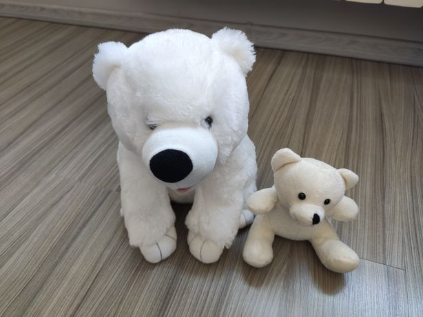 Pluszak maskotka miś niedźwiedź niedźwiadek polarny