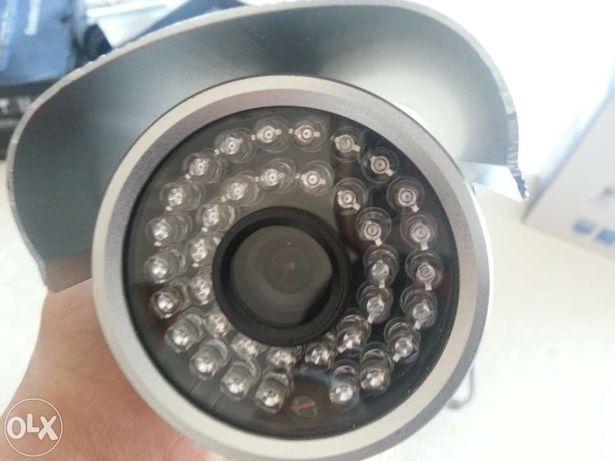 câmara cctv vídeo vigilância 420 tvl sensor sharp 36 leds visão noctur
