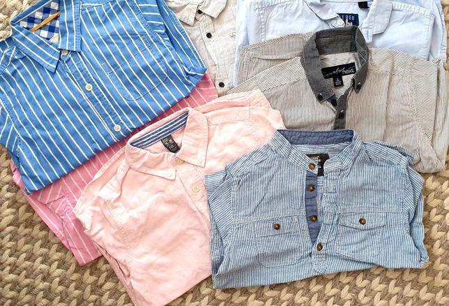 Koszule 7 sztuk next , zara  , h&m , mini boden
