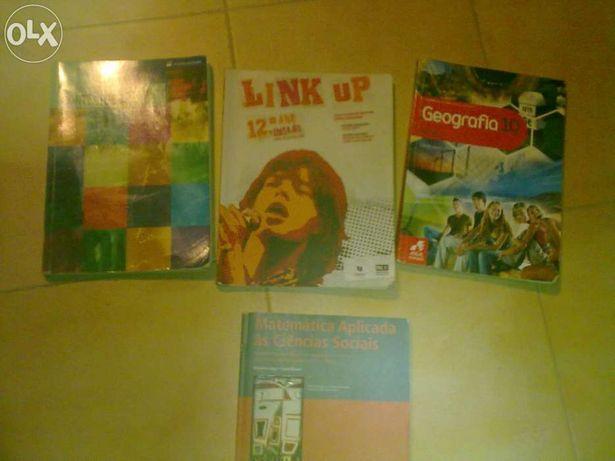 Vendo livros do ensino secundário do 10º ao 12º ano.