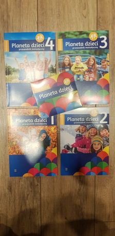Przewodnik metodyczny sześciolatek planeta dzieci + CD WSiP