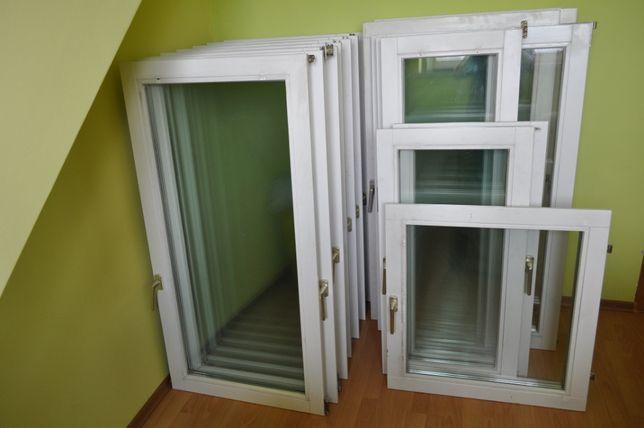 Skrzydła okienne drewniane , drzwi balkonowe drewniane bez ościeżnic