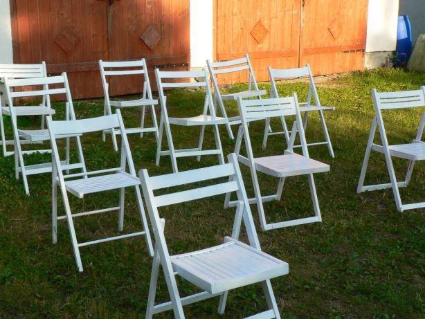 DO WYNAJĘCIA krzesła składane ,bankietowe ,obrusy stoły talerze namiot