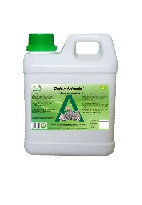 Probiotyk dla królików Doktor Animals 1L Efektywne Mikroorganizmy Węgorzewo - image 1