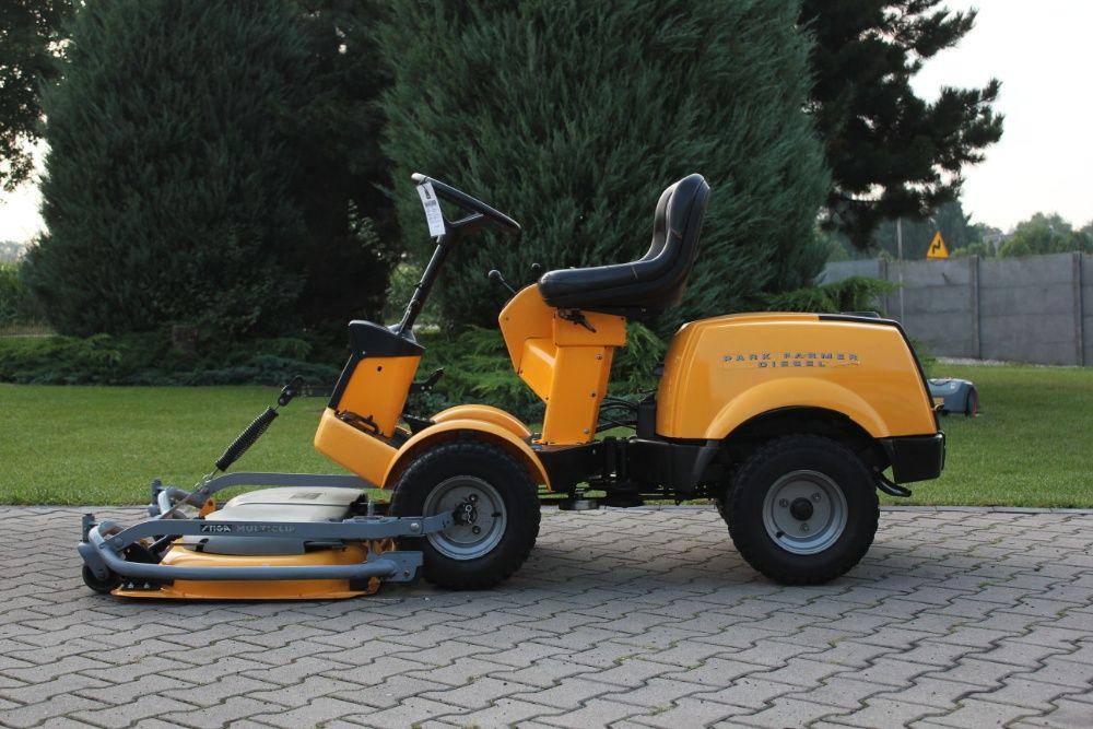 STIGA PARK FARMER Diesel Traktorek kosiarka Gogołowice - image 1