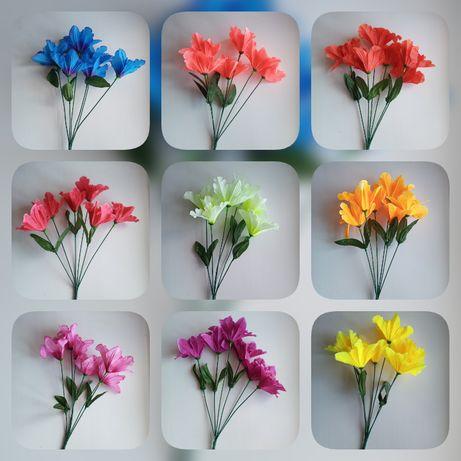Букет нарциссов 35 см. Искуственные цветы.