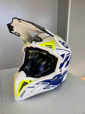 CAPACETE AIROH AVIATOR 3 enduro motocross ktm sherco husqvarna gas 300