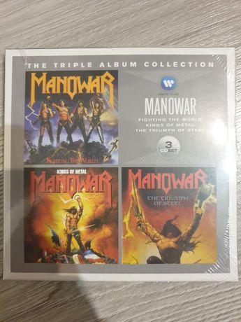 The triple album collection Manowar
