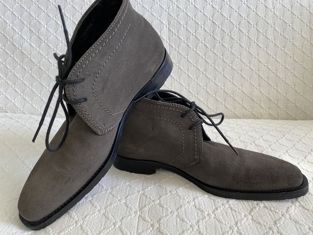Ботинки Hugo Boss Замша