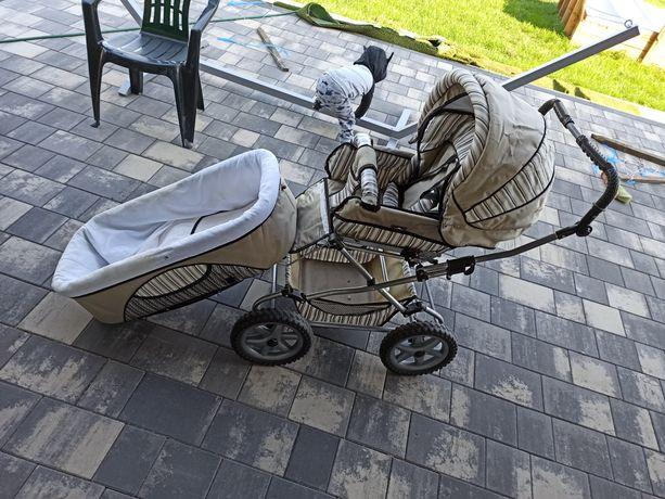 Wózek dziecięcy oddam za pampersy pantsy 4