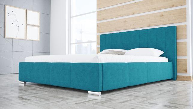 Łóżko R3 160x200 Tapicerowane Sypialniane Stelaż Pojemnik