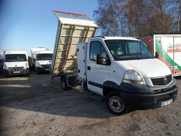 Renault Master Iveco kiper wywrot Super stan