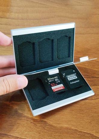 Porta Cartões de Memória SD