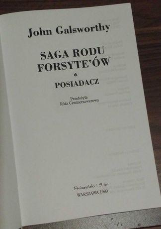Saga rodu Forsyte'ów John Galsworthy