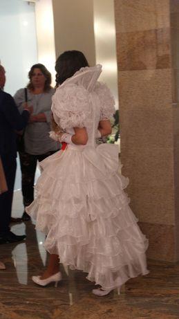 Barokowa suknia ślubna XS/S