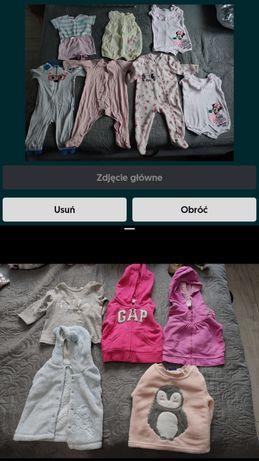 Mega paczka ubrań dla dziewczynki!!! Roz. Od 68-74-80 zamienię za dady