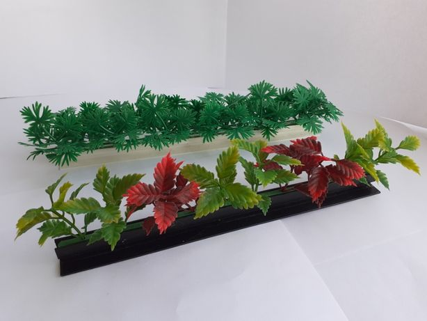 Растения аквариумные штучние, декоративные, невысокие