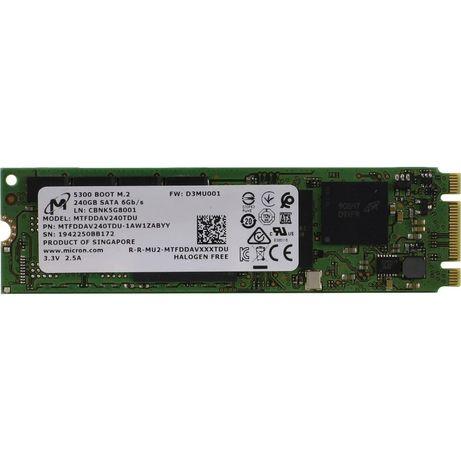 SSD накопитель MICRON 5300 Boot 240GB, M.2 2280, SATA 6gb/s