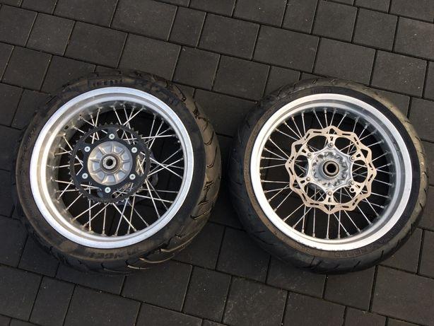 Koła BEHR Supermoto KTM Exc, sxf, Husaberg, felgi, super moto 450 500