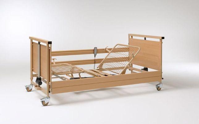 Łóżko szpitalne, rehabilitacyjne na pilota całkiem nowe wytrzymałe
