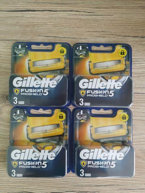 Змінні касети для гоління Gillette Fusion 5 ProShield 3 шт. в упаковці