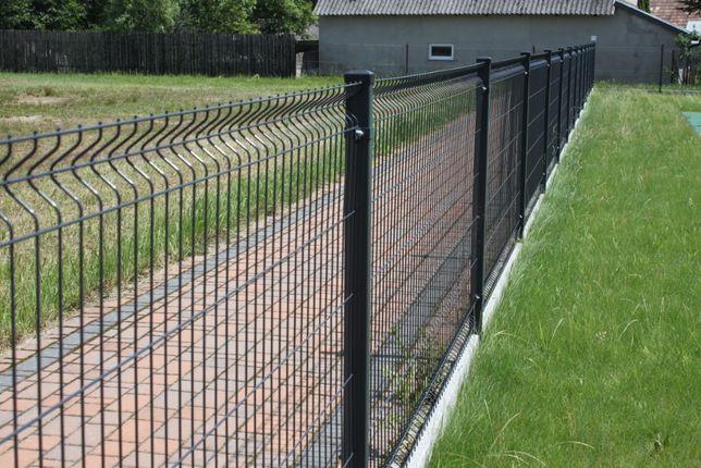 Panel 123cm fi4mm ogrodzenie panelowe 50,57zł/mb NOWE BRZESKO