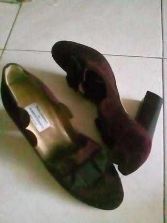 Lindissimos sapatos bordô 37
