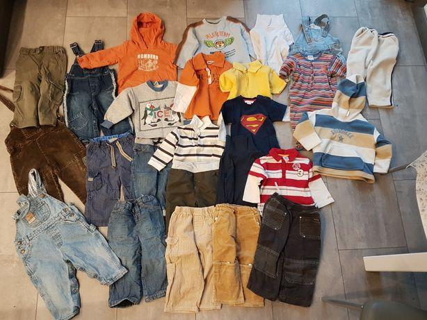 Ubranka 80-92 , kurtki w gratisie
