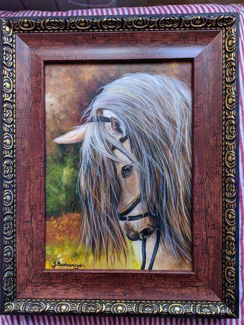 Obraz na płótnie Koń J.Bednarczyk