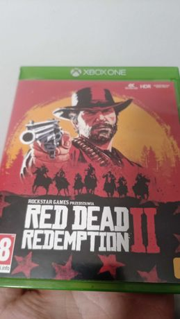 Xbox one Red dead redemtion 2, coś Black ops 3, rainbow six siege FIfa