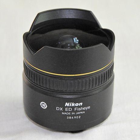 Продам nikon(фишай) 10.5мм/2.8