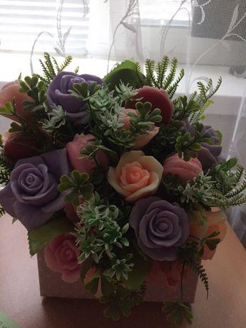 Подарочный набор мыльных роз