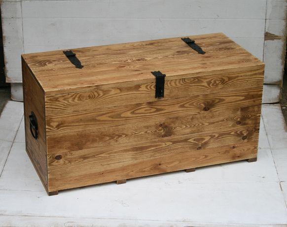 skrzynia drewniana | kufer | stolik kawowy ława | loft industrialna