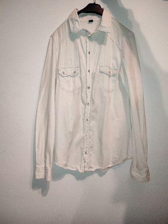 Biała koszula - rozmiar S / 36 marki PIMKIE