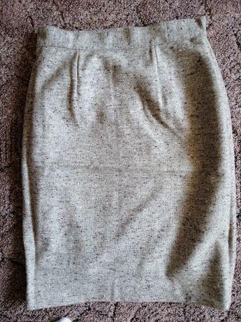 Damska szyta spódnica ołówkowa z podszewką