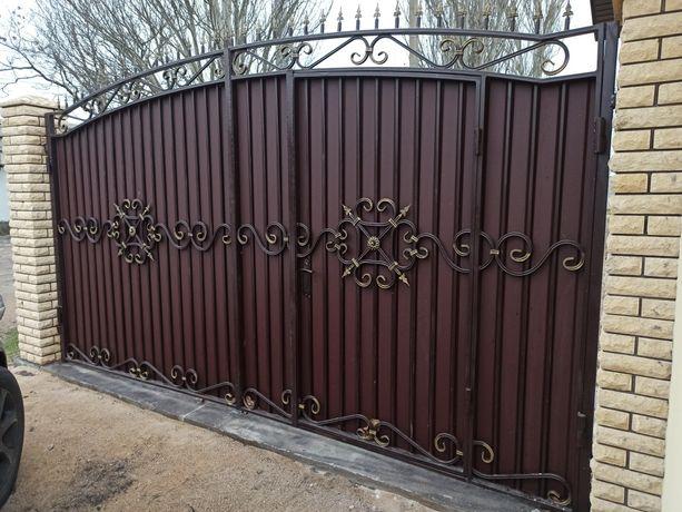 Решетки, ворота, металлоконструкции, сварочные работы