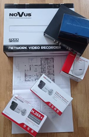 Alarmy kamery domofony