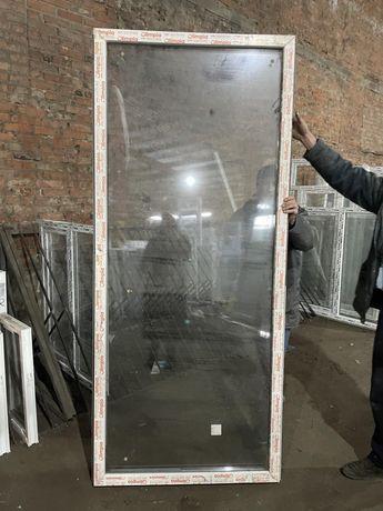 Продаются большие ПВХ окна( рамы) для террасы,зимнего сада