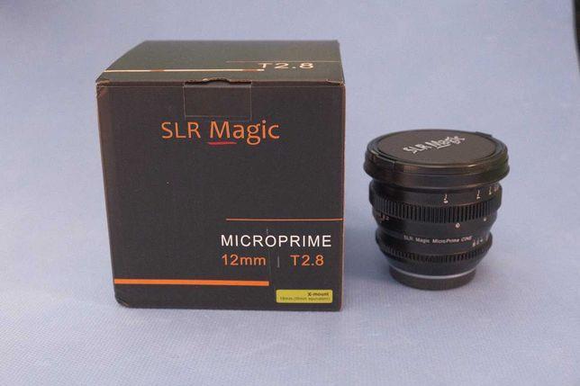 Slr Magic 12mm T2.8 fuji fx