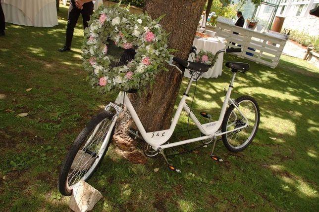 Bicicletas tandem casamentos eventos