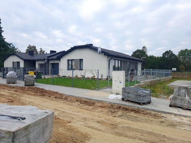 Nowy dom parterowy z działką w cenie mieszkanie Bełchatów Ławy hit