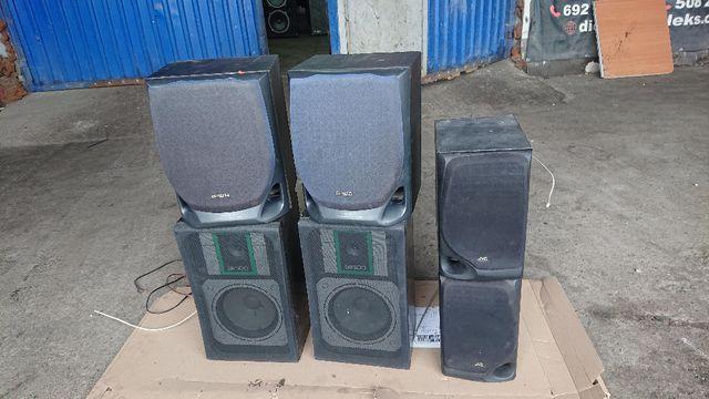 kolumny głośniki jvc sp-s200 aiwa sx-nav70 i br 300