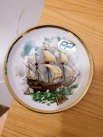 Prato porcelana - barco
