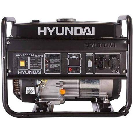 Комбинированный газо-бензиновый генератор Hyundai HHY 3000FG