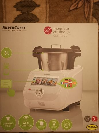 Nowy robot kuchenny Monsieur Cuisine Connect Lidlomix od ręki