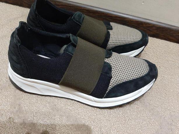 кроссовки женские 37 размер фирма oki kutsu длинна стельки 23.5