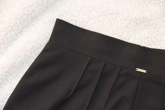 SIMPLE czarna spódniczka s 36 ołowkowa 34 xs spodnica sukienka praca