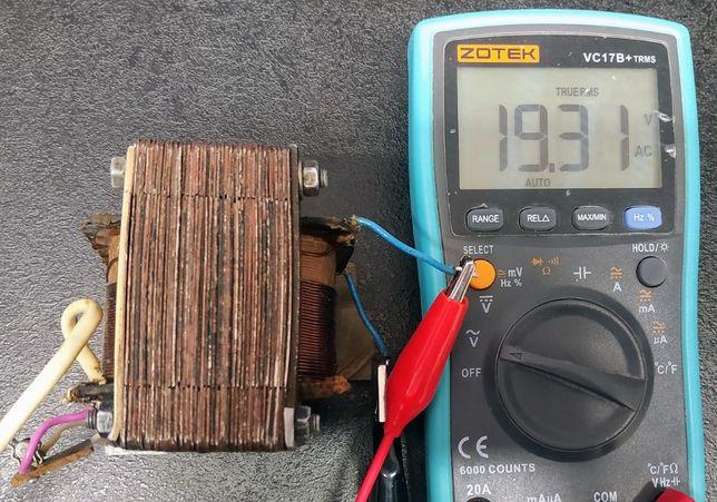 Трансформатор понижающий 220в > ~ 20в или +/-27в